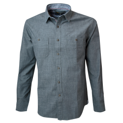 Camisa Doble Bolsillo Slim Fit