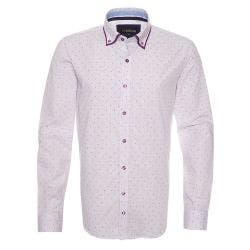 Camisa Yd Estampado Doble Cuello