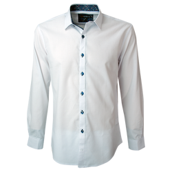 Camisa Jacquard  Slim Fit