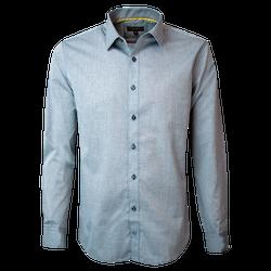 Camisa Fantasía Jacquard Slim Fit