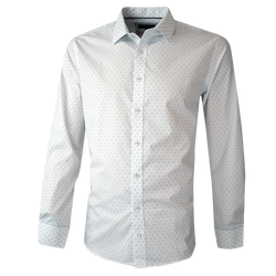 Camisa Trevira Estampada Slim Fit