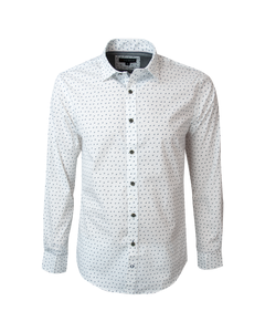 Camisa Sport Estampada Slim Fit