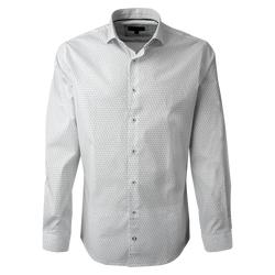 Camisa Estampada Spandex Ultra Slim