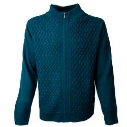 Sweater Full Zipper Melange