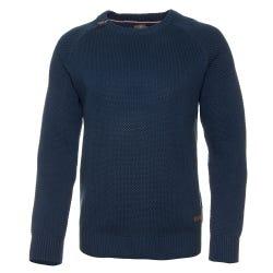 Sweater Cuello Redondo Con Cierre