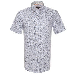 Camisa Estampada Spandex Button Down