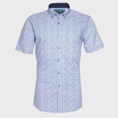 Camisa Estampada Algodón Mc